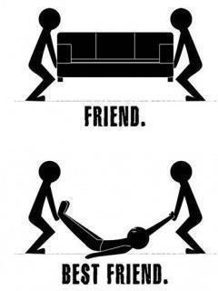 Difference between Friend and Best Friend