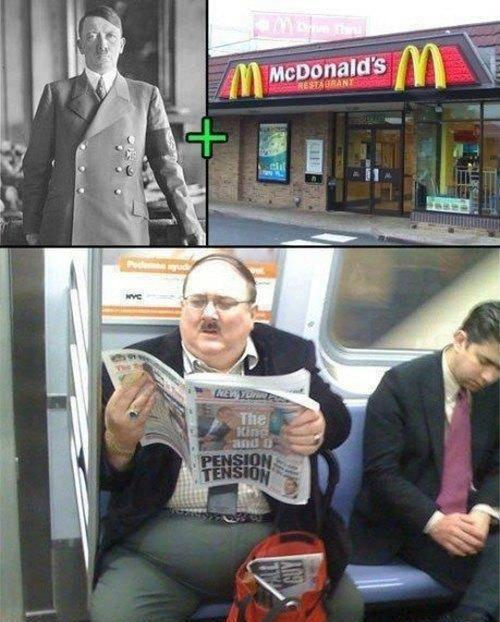 Hitler after McDonald's