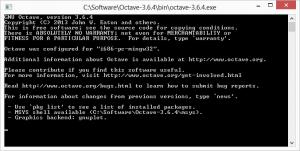 octave start bug fix