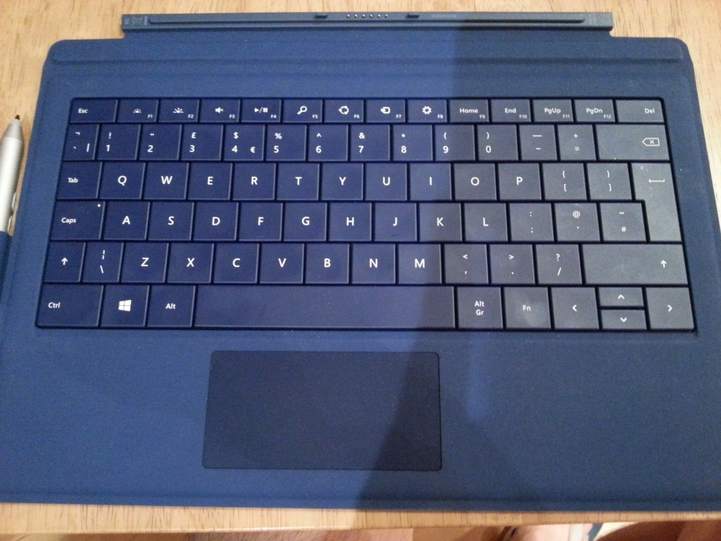 Microsoft Surface Pro 3 UK Keyboard